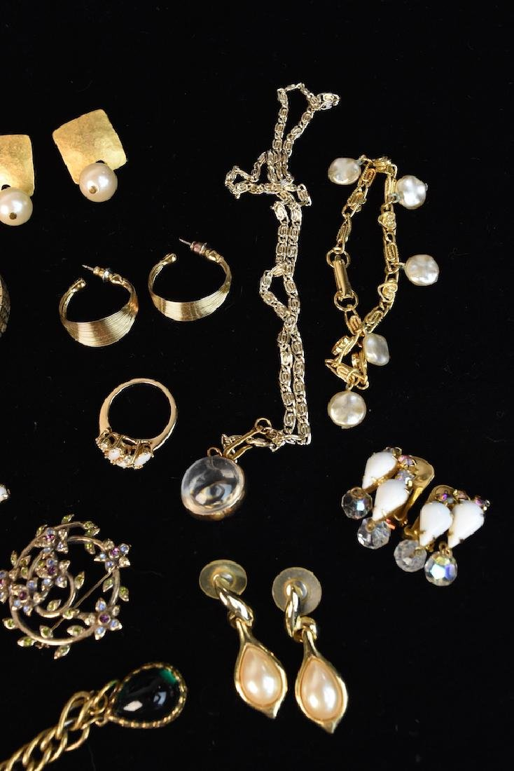 Costume Jewelry; Monet, Sorrento, Bulova, Judy Lee + - 9