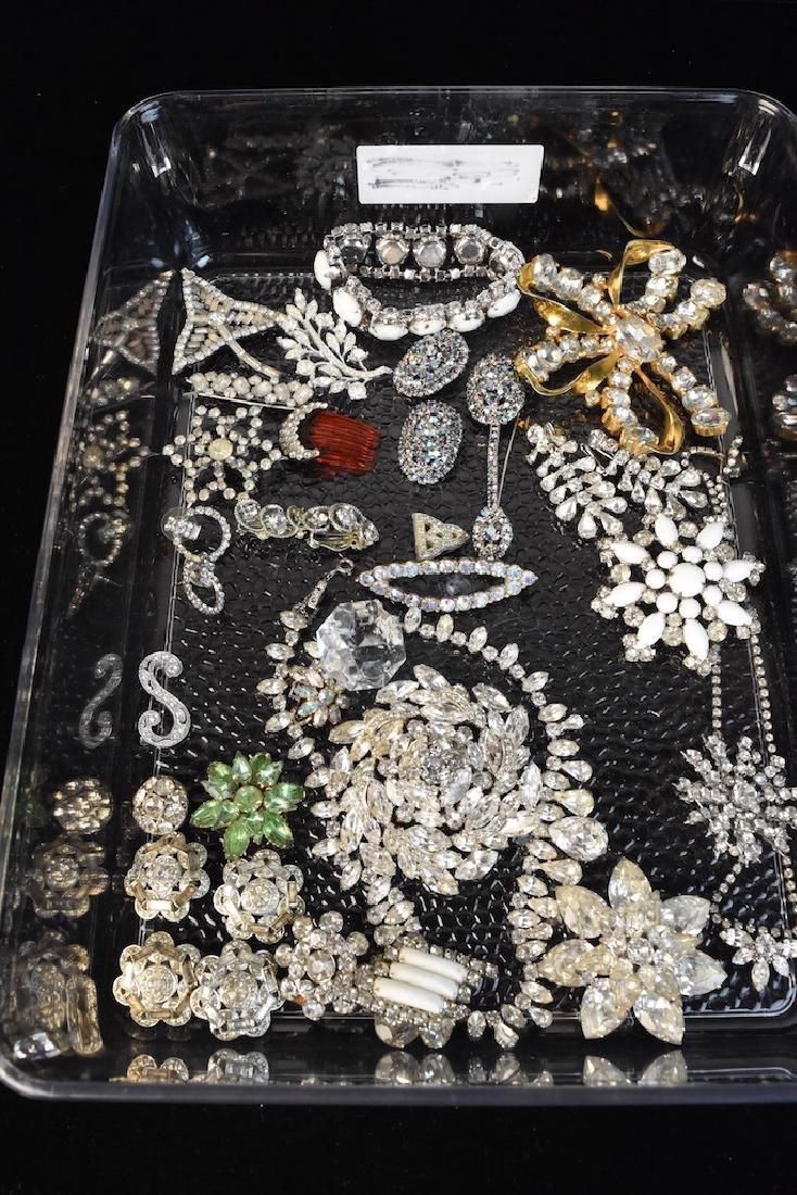 Vintage Rhinestone Jewelry Collection