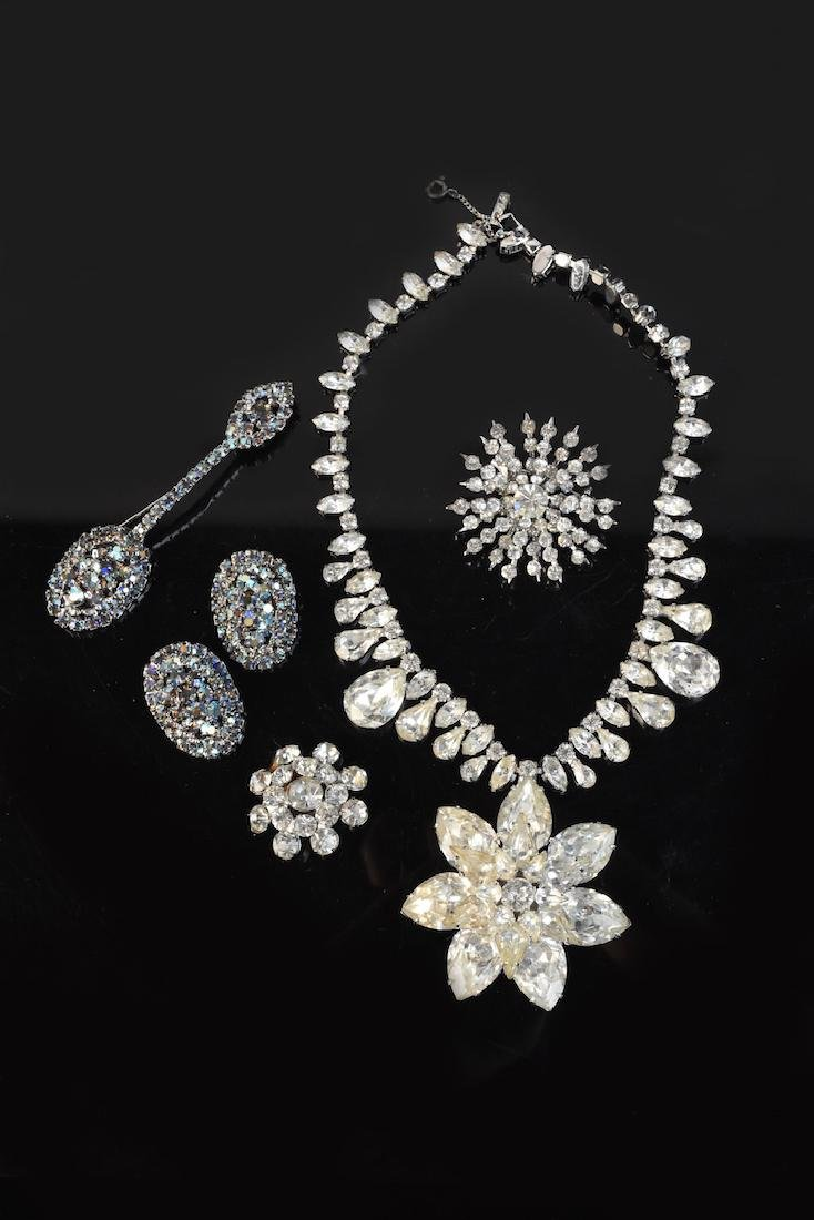 Vintage Rhinestone Jewelry Collection - 4