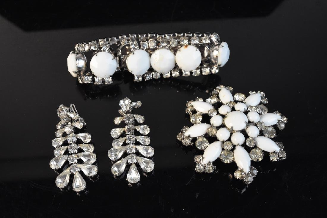 Vintage Rhinestone Jewelry Collection - 5