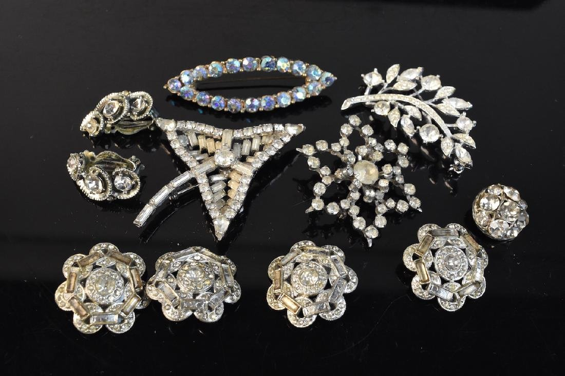Vintage Rhinestone Jewelry Collection - 6