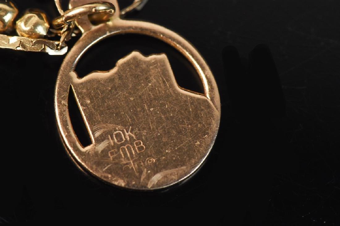 Assorted 10K & 18K Gold Jewelry - 4