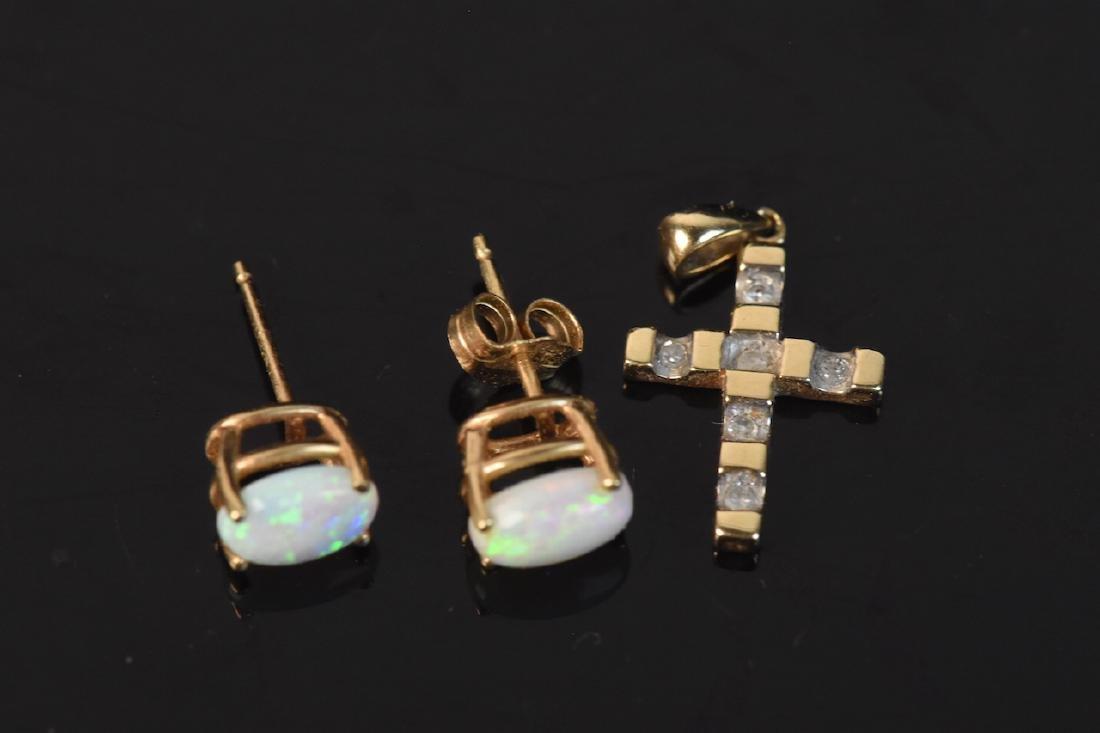 Assorted 10K & 18K Gold Jewelry - 5