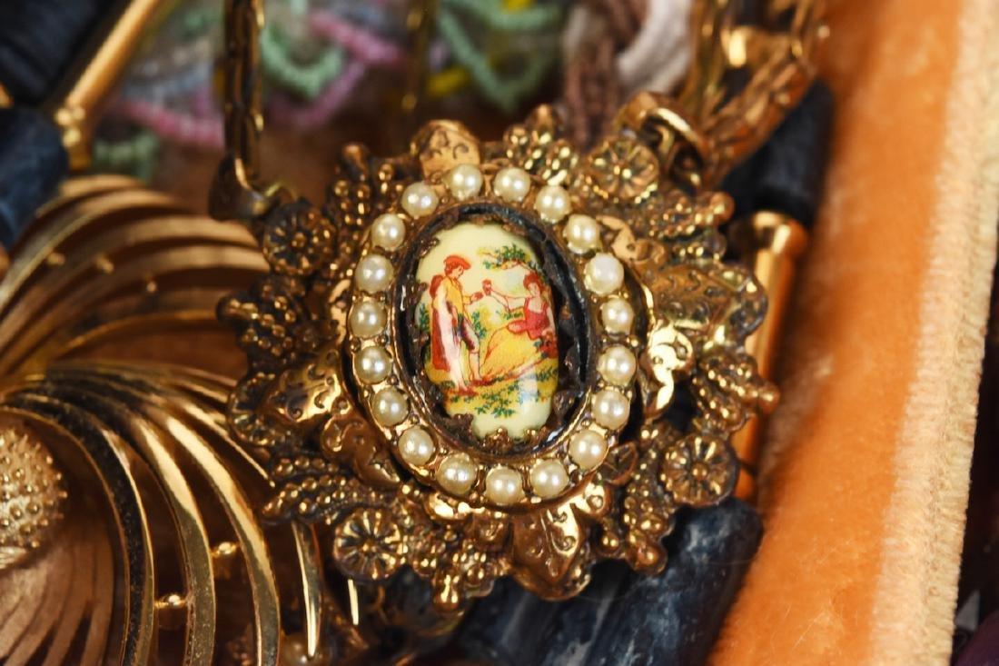 Costume Jewelry; Monet, Vendome, Trifari + - 10