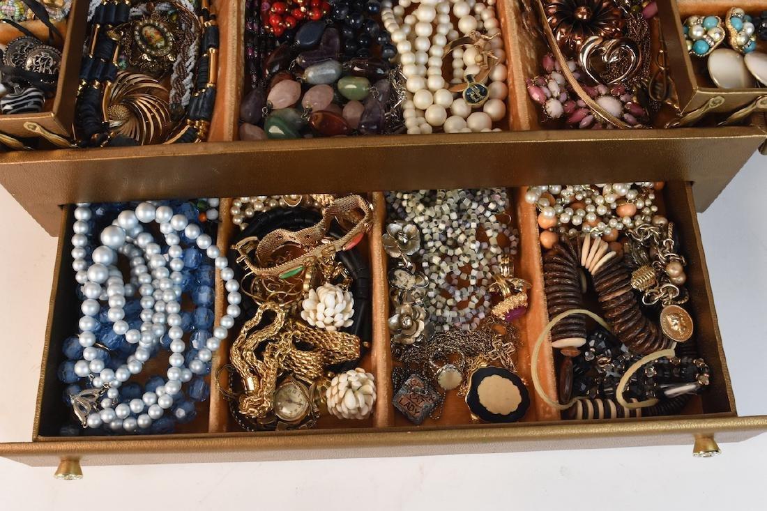 Costume Jewelry; Monet, Vendome, Trifari + - 2