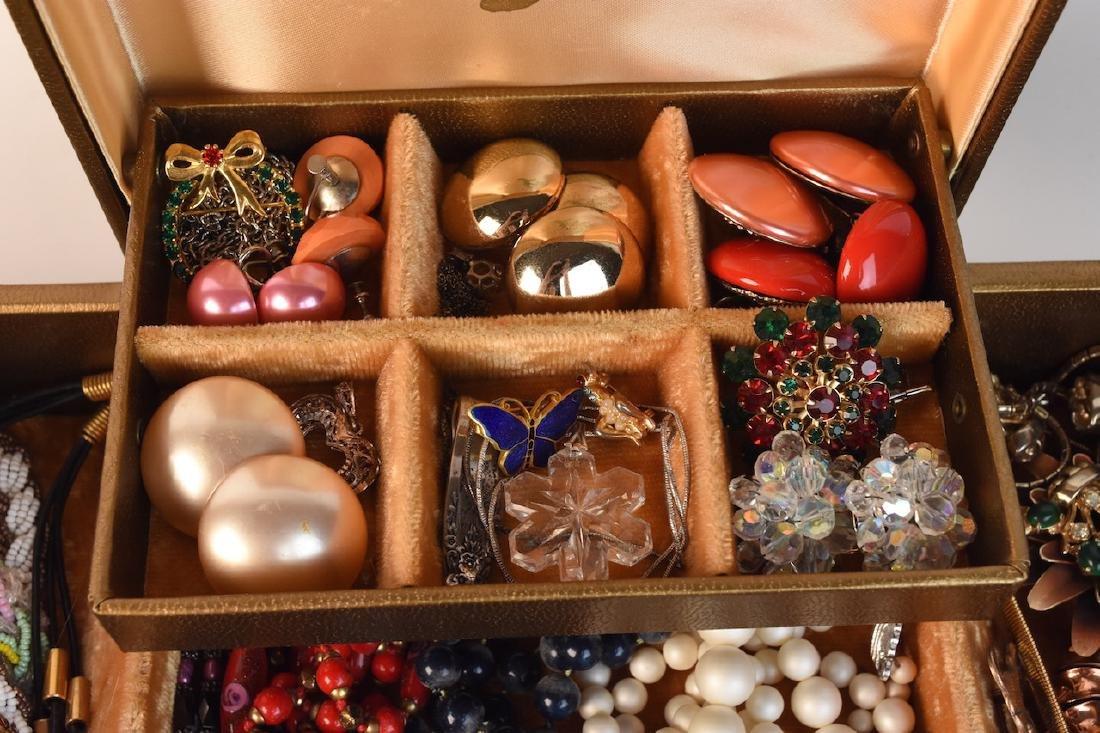 Costume Jewelry; Monet, Vendome, Trifari + - 3