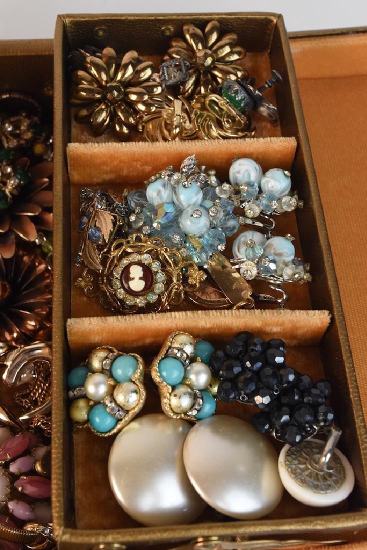 Costume Jewelry; Monet, Vendome, Trifari + - 4