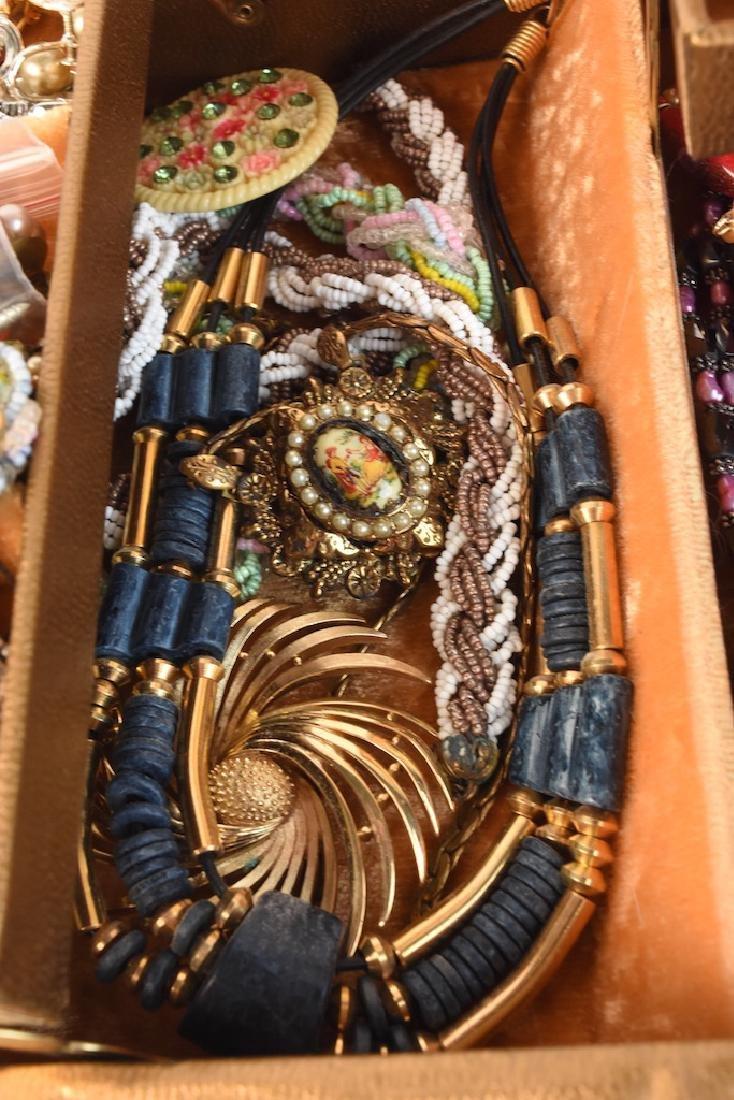 Costume Jewelry; Monet, Vendome, Trifari + - 6