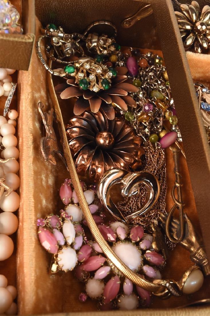 Costume Jewelry; Monet, Vendome, Trifari + - 7