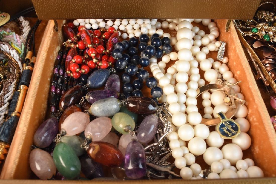 Costume Jewelry; Monet, Vendome, Trifari + - 8