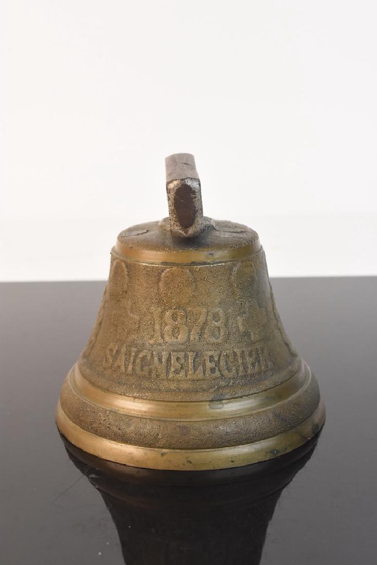 Chiantel Fondeur 1878 Saignelegier Cow Bell - 2