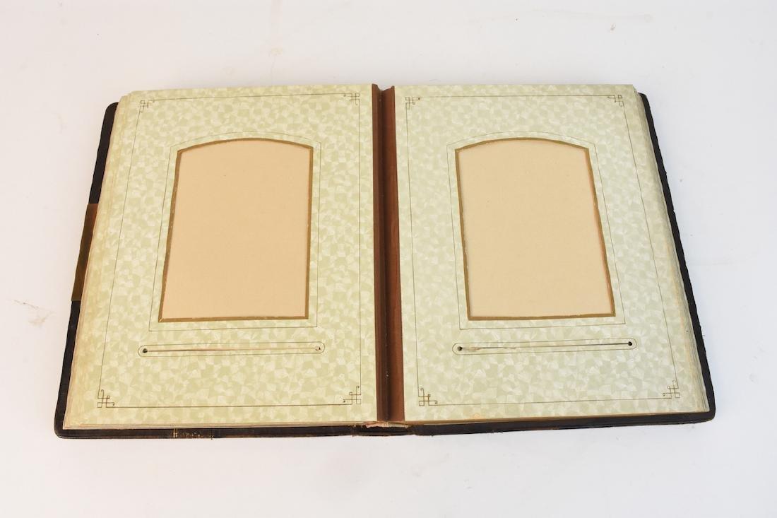 Antique Leather Photo Album - 4