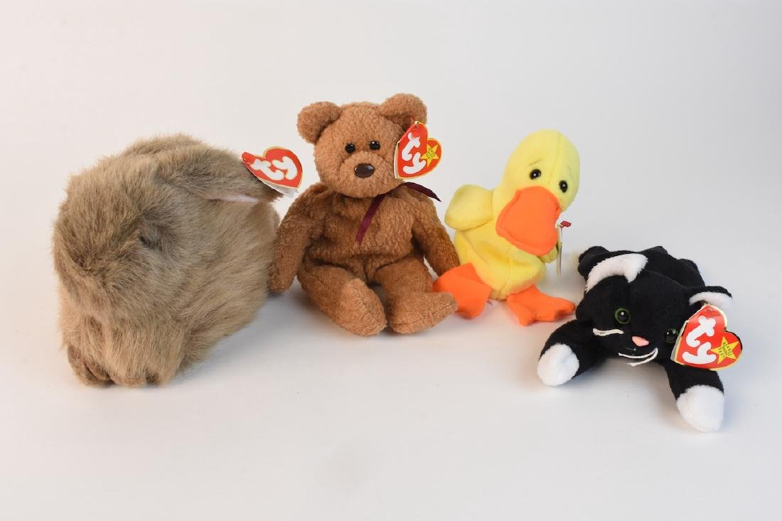 Collection of Beanie Babies Made in 1993 - 2