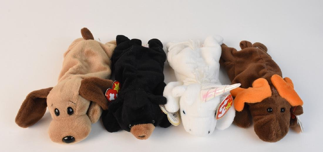 Collection of Beanie Babies Made in 1993 - 3