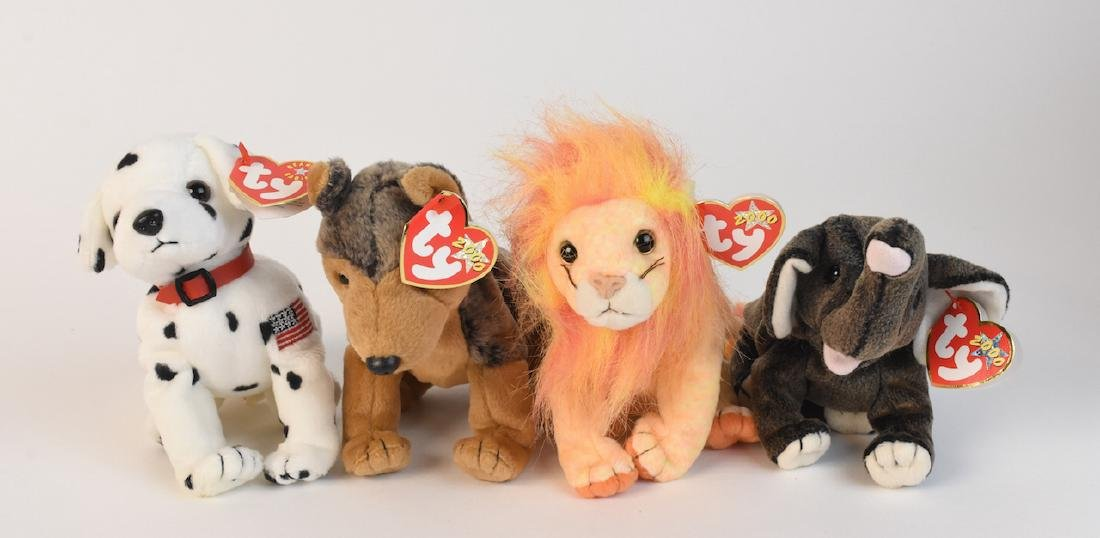 Selection of Beanie Babies from '98, 2000 & '02 - 3