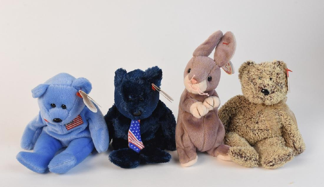 Selection of Beanie Babies from '98, 2000 & '02 - 4