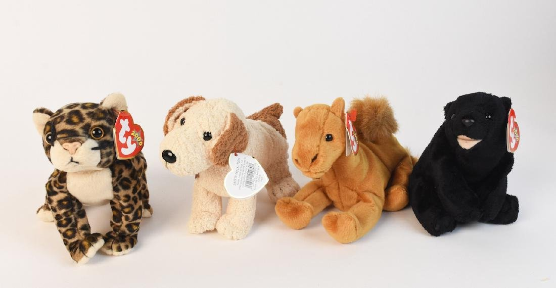 Selection of Beanie Babies from '98, 2000 & '02 - 5