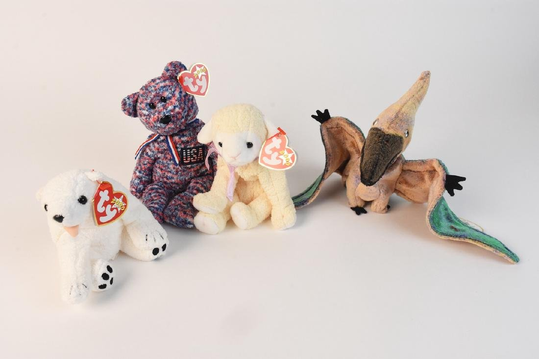 Selection of Beanie Babies from '98, 2000 & '02 - 6