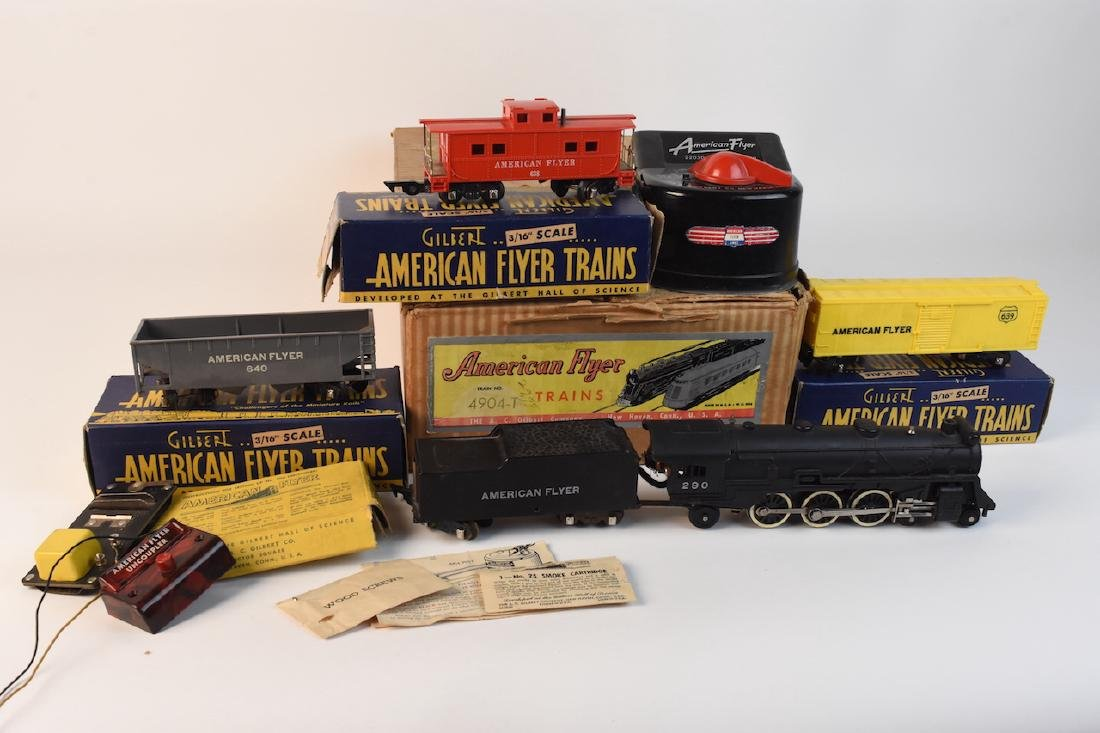 "Gilbert American Flyer Train Set 3/16"" Scale"
