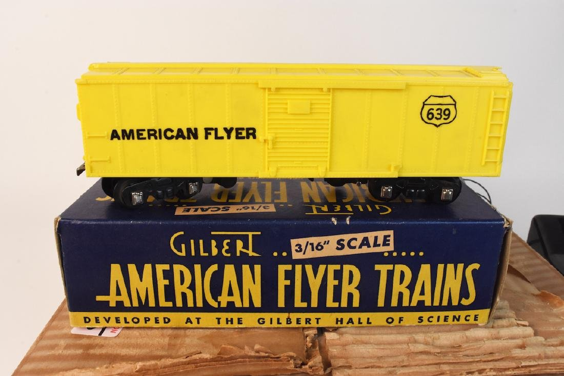 "Gilbert American Flyer Train Set 3/16"" Scale - 4"