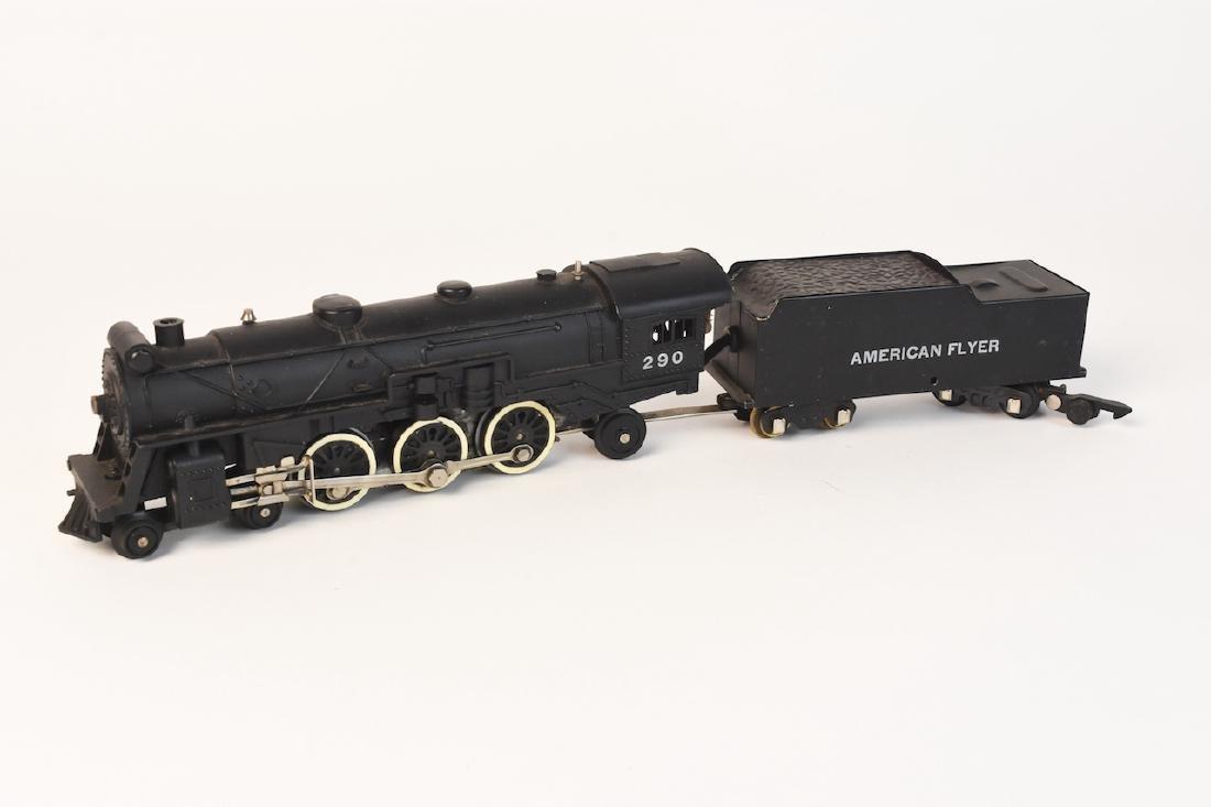 "Gilbert American Flyer Train Set 3/16"" Scale - 9"