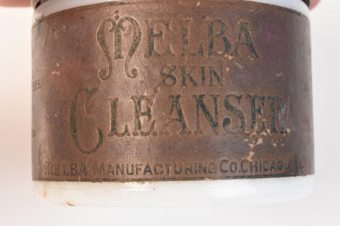 Vintage Melba Skin Cleanser Jars & Other - 6