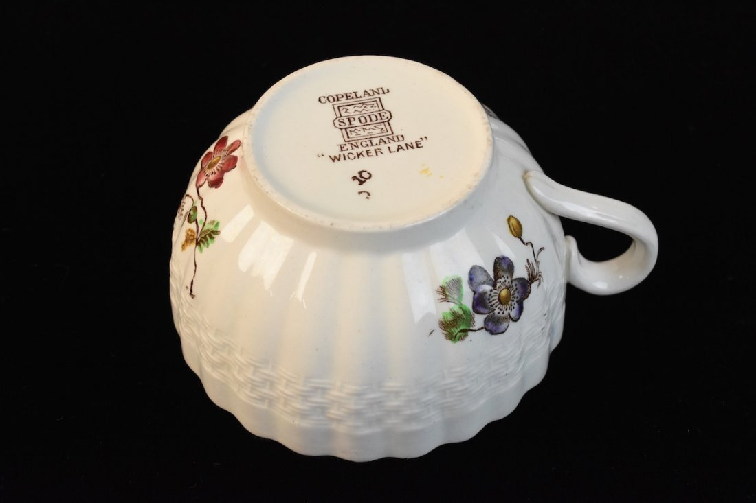 "Copeland Spode ""Wicker Lane"" Dinner Service - 6"