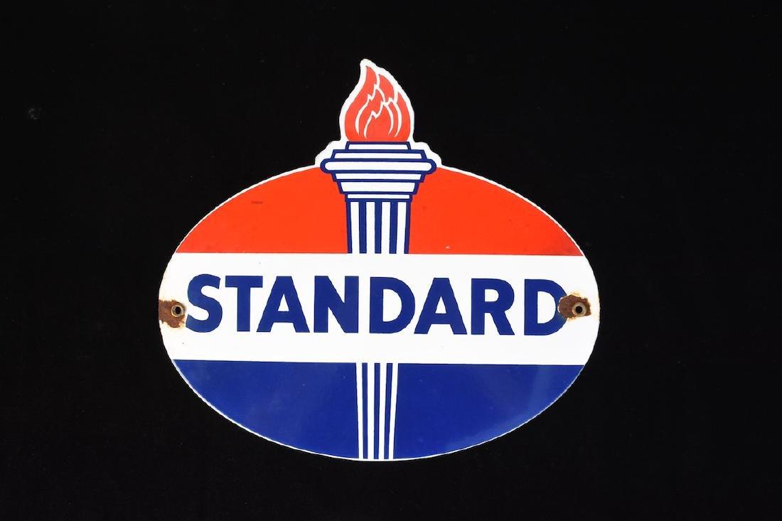 Porcelain Standard Advertisement Sign, VG