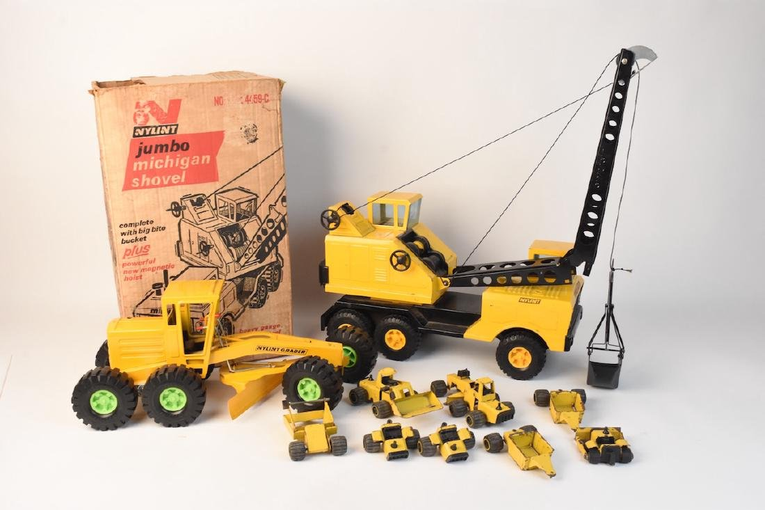 Nylint Steel Construction Toys & Small Set