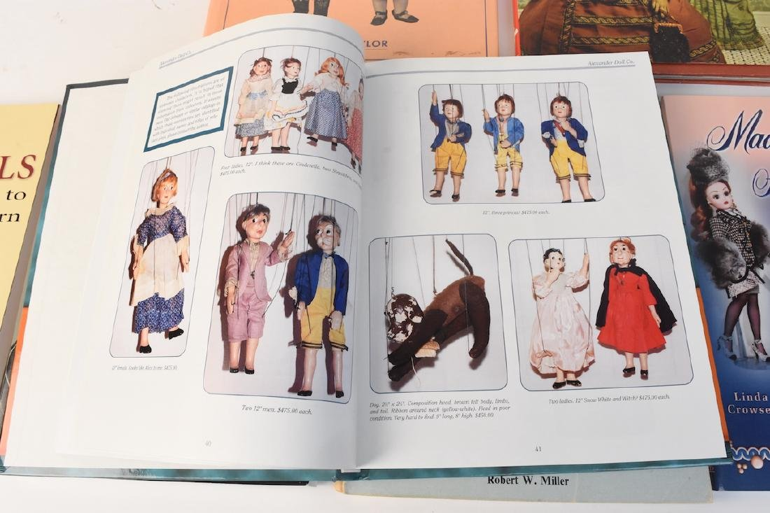 (7) Reference Books to Antique & Modern Dolls - 2