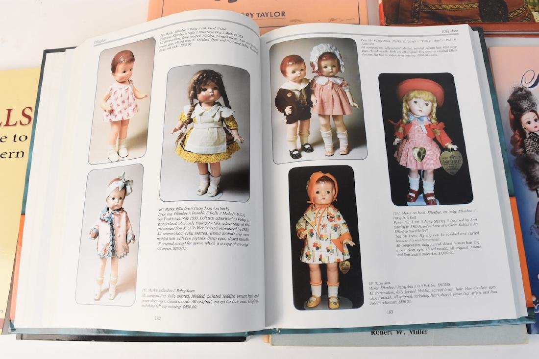 (7) Reference Books to Antique & Modern Dolls - 3