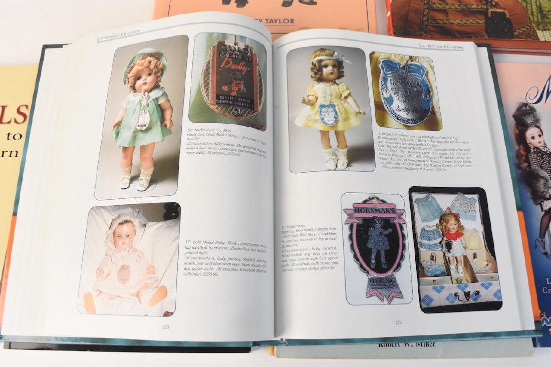 (7) Reference Books to Antique & Modern Dolls - 4