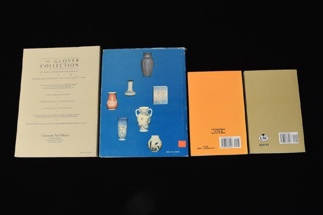 (4) Rookwood Pottery Reference Guides - 2