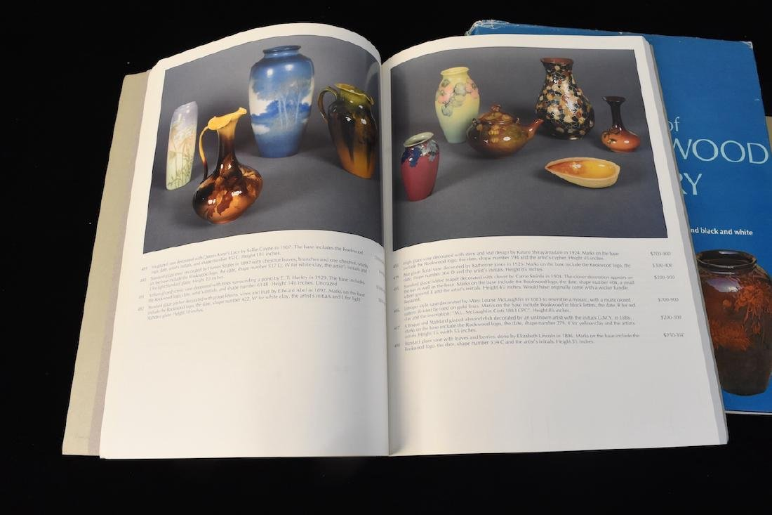 (4) Rookwood Pottery Reference Guides - 4