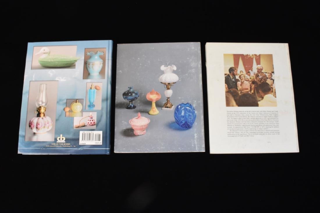 (3) Fenton Glass Reference Guide Books - 2
