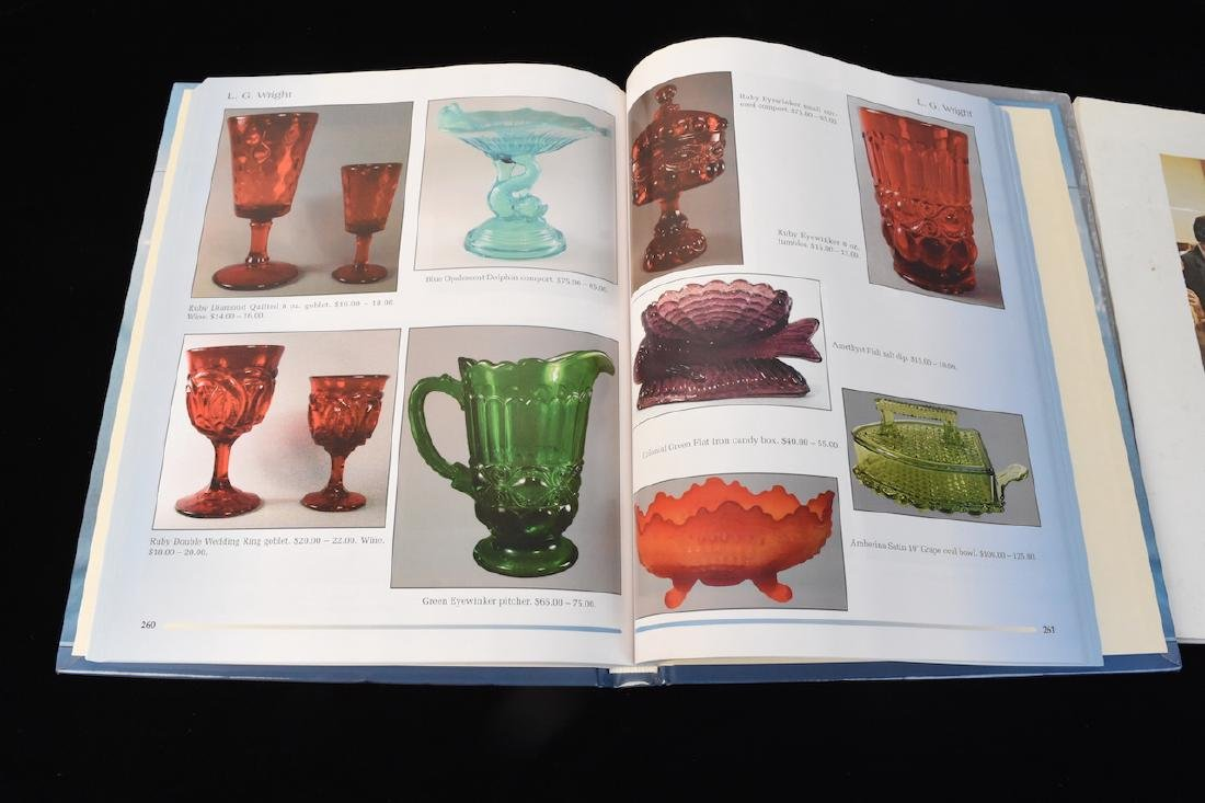 (3) Fenton Glass Reference Guide Books - 3
