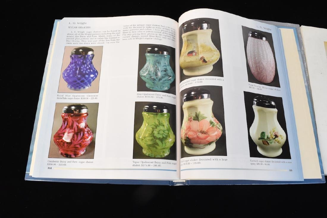 (3) Fenton Glass Reference Guide Books - 4