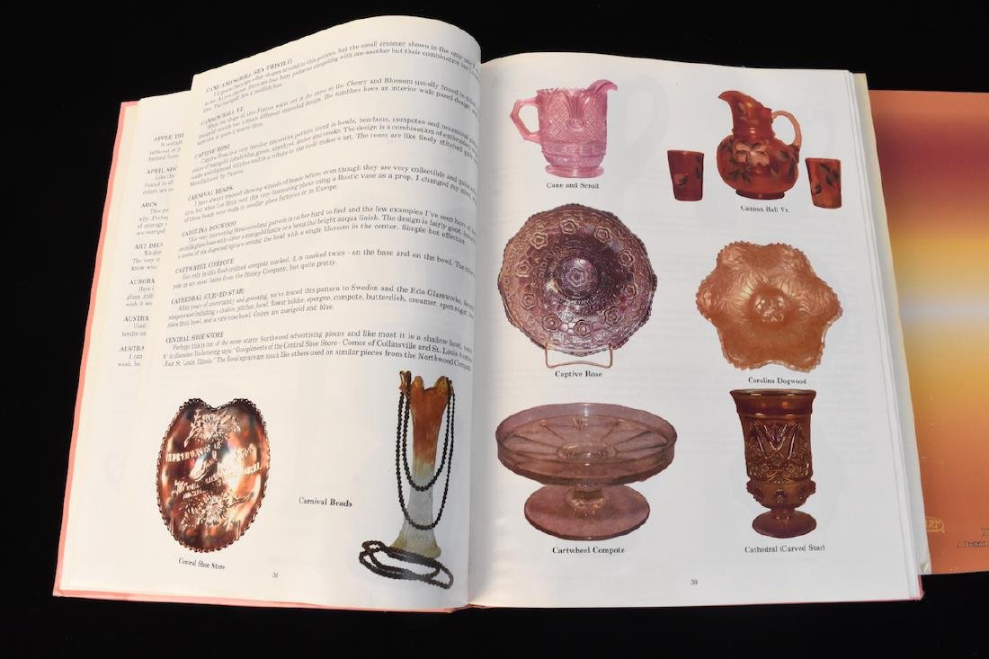 (3) Carnival Glass Reference Guide Books - 3