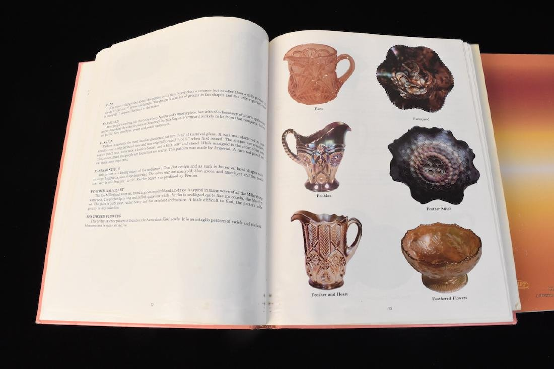 (3) Carnival Glass Reference Guide Books - 4