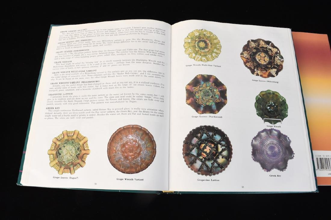 (3) Carnival Glass Reference Guide Books - 6