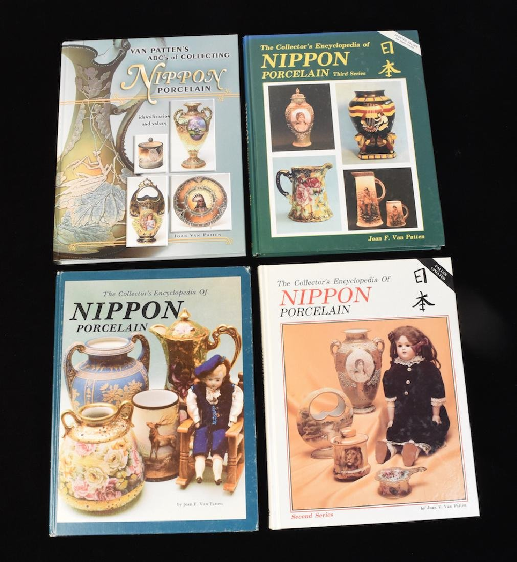 (4) HB Nippon Porcelain Reference Guide Books