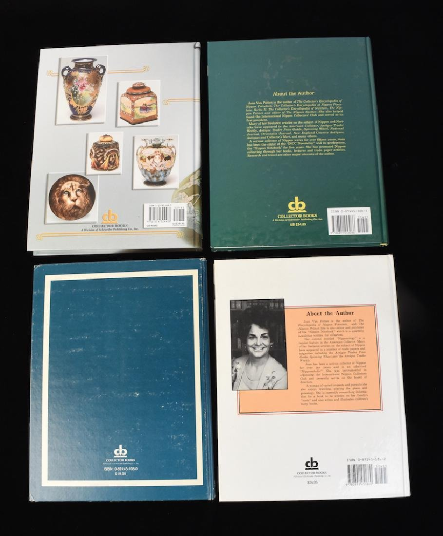 (4) HB Nippon Porcelain Reference Guide Books - 2
