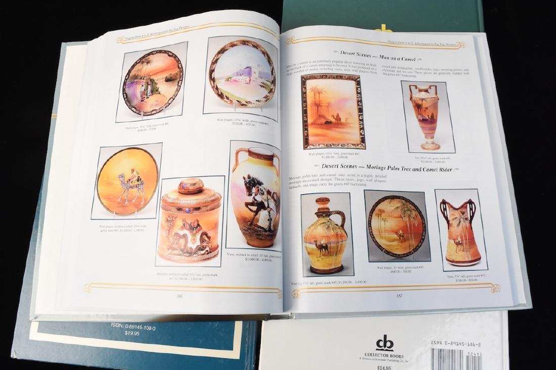 (4) HB Nippon Porcelain Reference Guide Books - 4