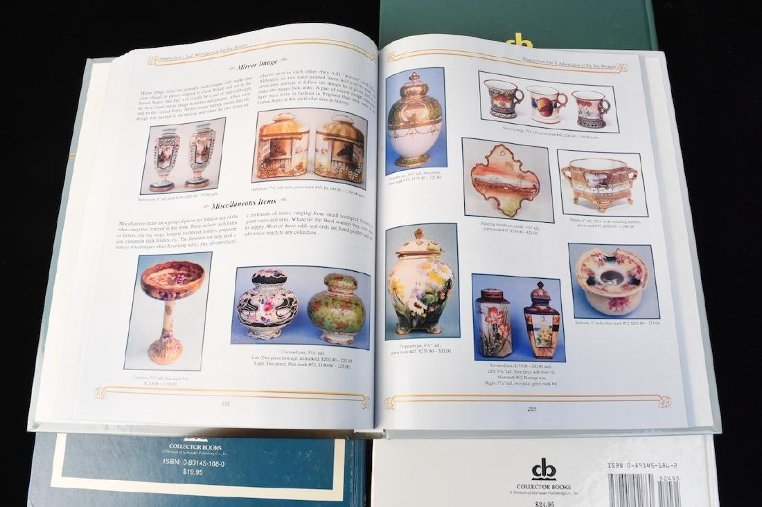 (4) HB Nippon Porcelain Reference Guide Books - 5