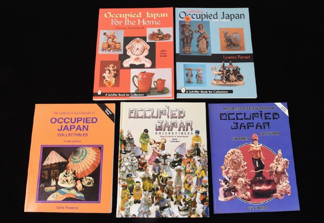 (4) Reference Guide Books to Occupied Japan Colles