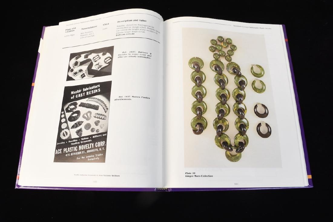 (5) Reference Books; Jewelry, Fenton, Tools + - 10