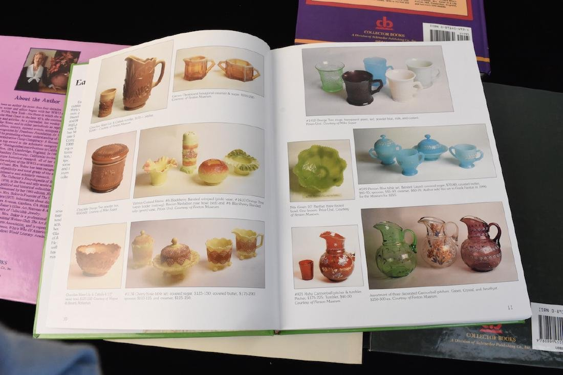 (5) Reference Books; Jewelry, Fenton, Tools + - 3