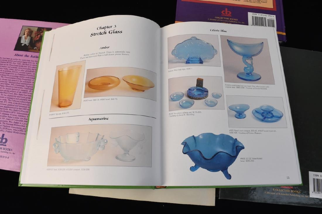 (5) Reference Books; Jewelry, Fenton, Tools + - 4