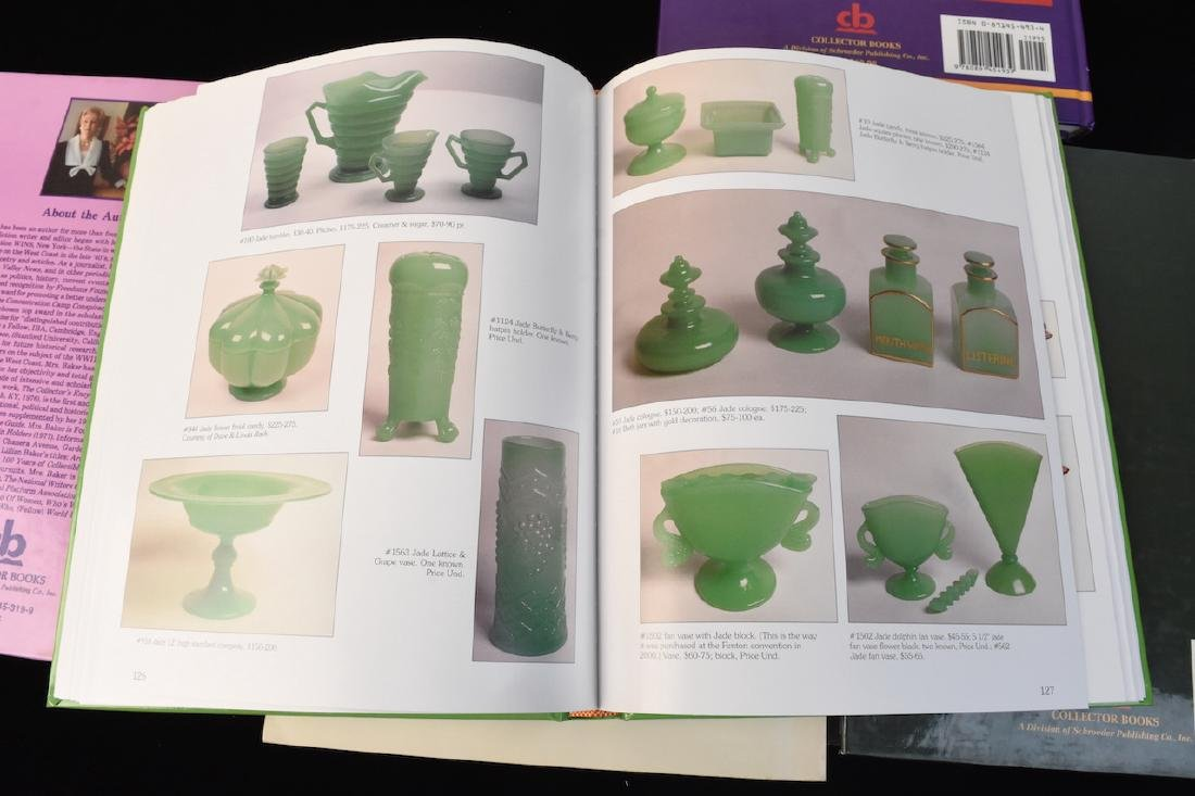 (5) Reference Books; Jewelry, Fenton, Tools + - 5