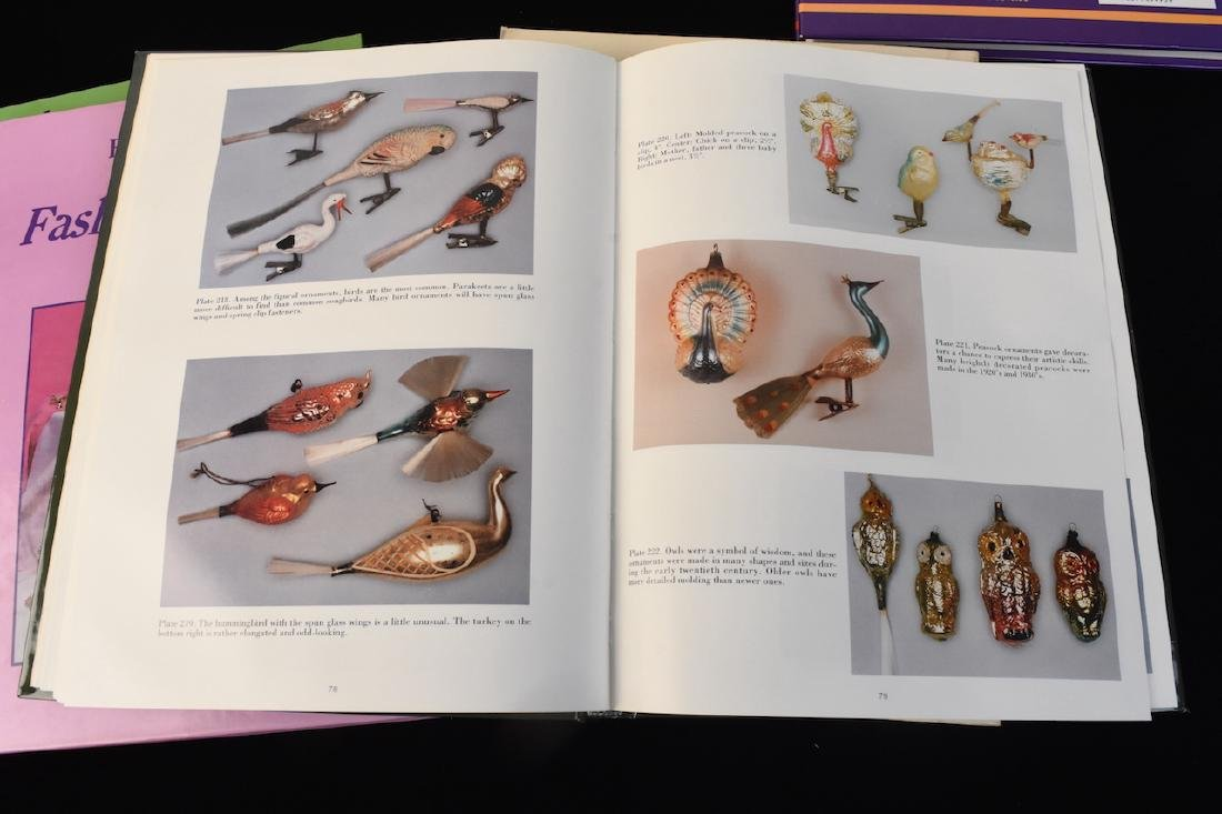 (5) Reference Books; Jewelry, Fenton, Tools + - 8